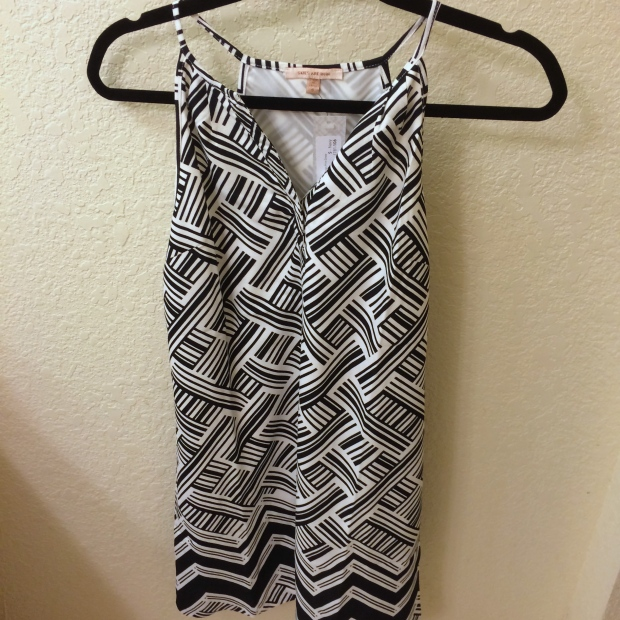 SUTTON MIXED CHEVRON PRINT DRESS