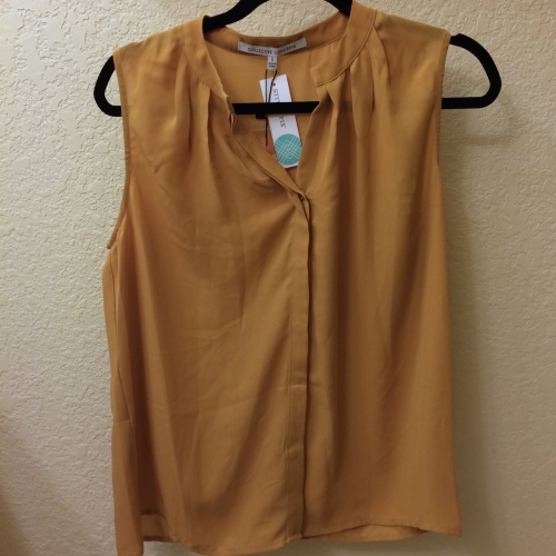 Esten Button-Up Sleeveless Blouse