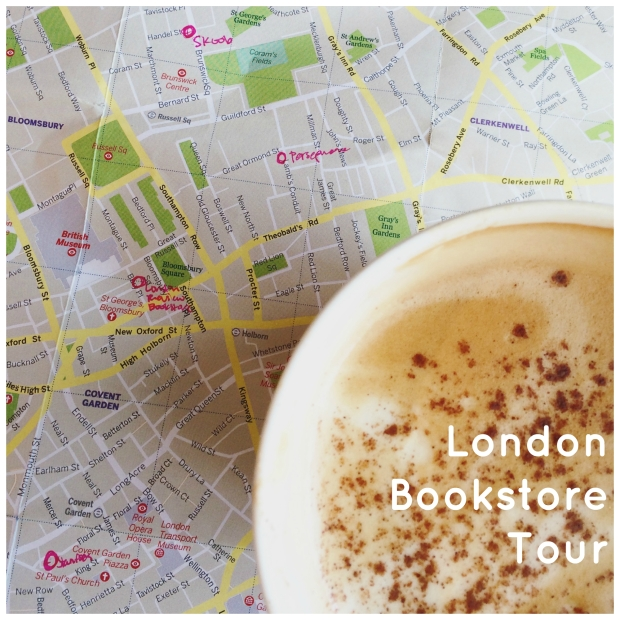 London Bookstore Tour